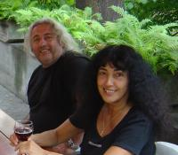 S manželkou Dimitrou