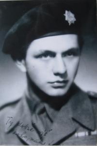 Otakar Riegel v Československé obrněné brigádě ve Francii