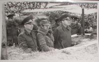 Cvičení ve Vojenském újezdě Hradiště v Doupovských horách