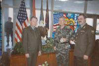 V Kansas City v USA s gen. Millerem, příprava společného americko-ruského cvičení, 1994