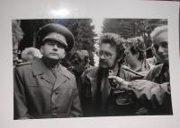 Setkání s čs. komisí a novináři, 1990