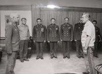 Sovětský vojenský sovět u čs. ministra obrany Milana Václavíka