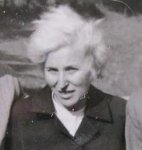 Dáša Bičovská v roce 1972