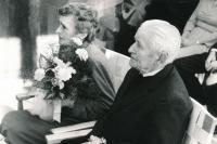 Rodiče Hubert a Vlasta Lanští, okolo roku 1980