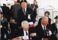 Oldřich Pich při šedesátém výročí vylodění v Normandii-6. 6. 2005