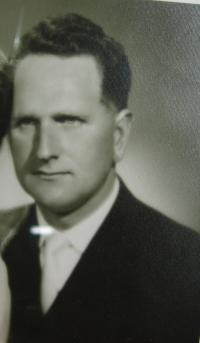 Oldřich Pich v mládí