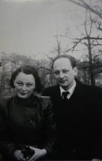S bratrem po válce