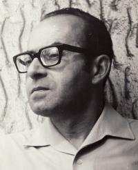 Karel Vaš v roce 1974