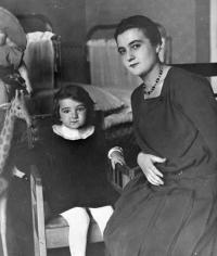 Hana s matkou Renatou