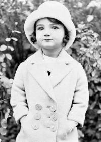 Hana na počátku třicátých let