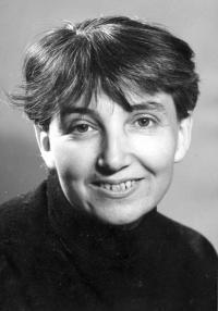 Hana v roce 1969 - v té době se připravuje vydání její knižní prvotiny Světýlka