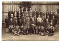 3rd class in Bystřice, 1920-21