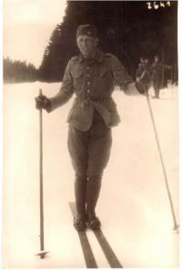 1931 Lyžařský kurz ve Špindlerově mlýně