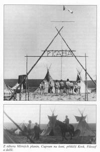 Tábor Větrných planin.