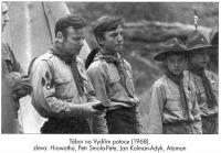Tábor na Vydřím potoce, 1968