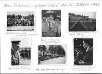 Grizzlyho fotografie, které pořídil na Srazu Jiráskovy východočeské oblasti - Josefov 1946