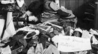 výstavka zabavených věcí rodiny Strauchů