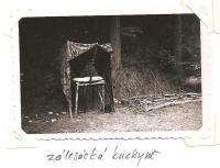 Oblastní lesní škola Jiráskovy oblasti - srpen 1946 - zálesácká kuchyně