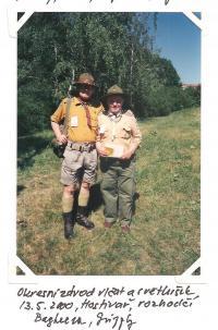 Okresní závod vlčat a světlušek 13. 5. 2000, Hostivař, rozhodčí Bagheera, Grizzly