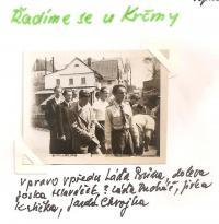 Květen 1945 - Řadíme se u Krčmy