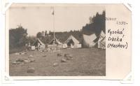 Tábor 1939 - Vysoká Srbská (Machov)