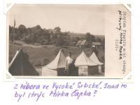 Strýček Frantík (příbuzný Mirka Čapka?), 1939