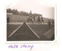 Sraz Jiráskovy východočeské oblasti - Josefov 1946 - naše stany