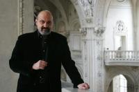 Tomáš Halík na galerii kostela sv. Salvátora v Praze
