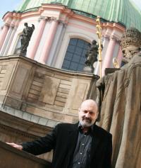 Tomáš Halík v Praze