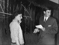 Tomáš Halík při maturitě na Střední všeobecně vzdělávací škole v Praze v roce 1966