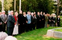 Commemorative ceremony in Ležáky