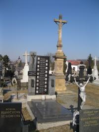 Mass grave of men killed in the Zákřov massacre - 2011