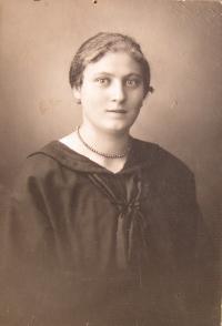 Matka pamětnice Marie Marková(Mudlíková)