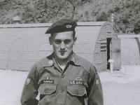 Milan Paumer v uniformě US Army