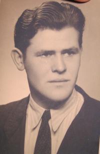 Drahomír Ohera, bratr pamětnice, který spolupracoval s partyzány