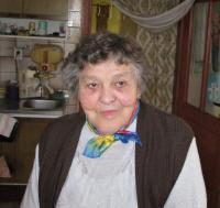 Olga Glierová (Oherová)-březen 2011-Zákřov