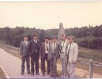 Jaromír Ulč s kolegy z pronacionalistického oddělení StB ze Slovenska