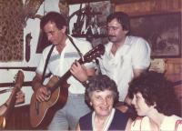 Jaromír Ulč svatební oslava 1974