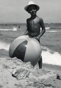 Syn Julek v Bulharsku, cca 1967