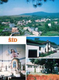 Šíd, rodiště manžela Julia Vargy, v okrese Lučenec
