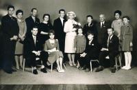 Svatební foto, 1962