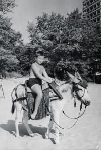 Syn Julek v Bulharsku, cca 1971