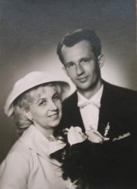 Svatba Julia a Dany Vargových v roce 1962