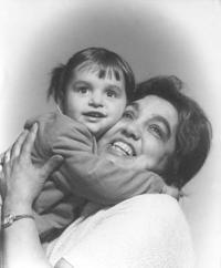 Emilie Machálková - s vnučkou Petrou