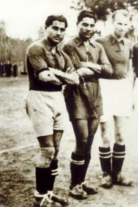 Strýcové Tomáš a Čeněk - členové fotbalového mužstva