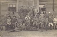Čeští legionáři, hosté Urbánkových na Sibiři, 1. strana