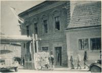 x14-Louny - Žižkova ul. č 346, květen 1945