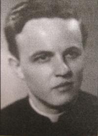 František Adamec v mládí