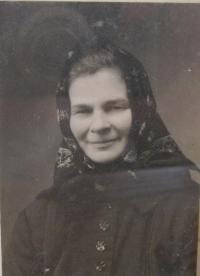 Terezie Adamcová (Trnavská)- maminka pamětníka