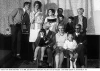 Rodina Stránských v roce 1968